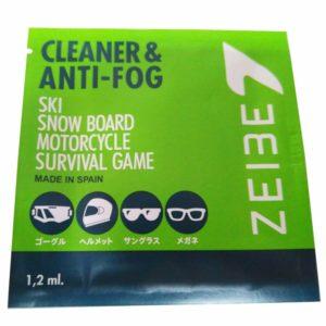 強力くもり止め セイベ クリーナー&アンチフォグ シートタイプ 1個 | ZEIBE CLEANER & ANTI-FOG ZEIBE01S